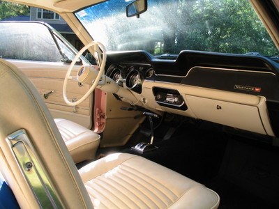 1967 ford mustang for sale in tallahassee florida old car online. Black Bedroom Furniture Sets. Home Design Ideas