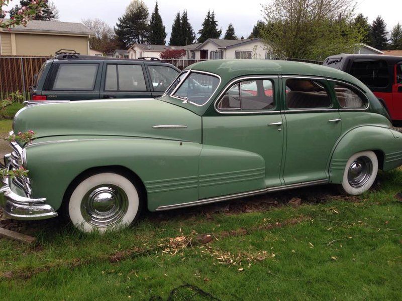 Best Price Car Dealer >> 1947 Pontiac Streamliner 4DR For Sale in Salem, Oregon ...