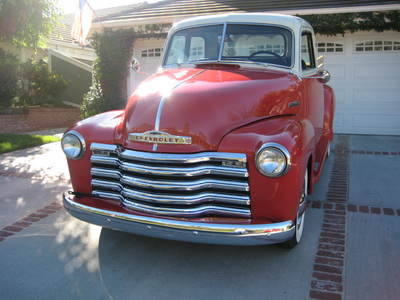 1950 Chevrolet Deluxe 5 Window Pick Up