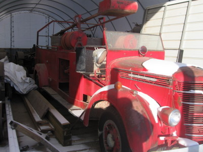 1940 International Fire Truck