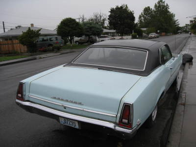 1969 Mercury Comet Sport Coupe