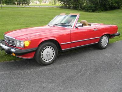 1989 Mercedes Benz 560 SL