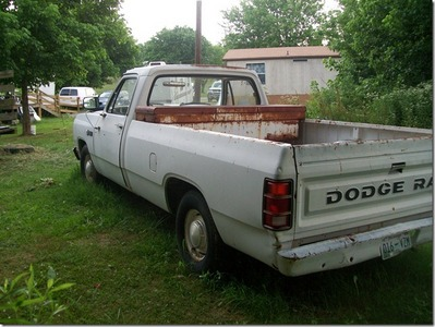 1982 Dodge 1/2 ton pick-up