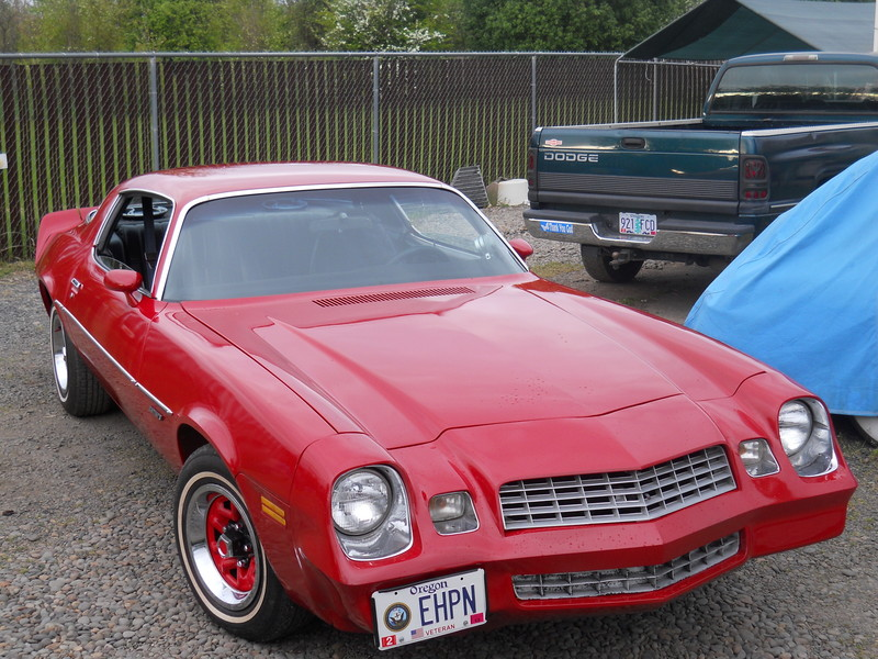 1978 Chevrolet Camaro (manual gearbox)