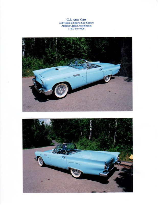1957 Ford Convertible with Hard Top