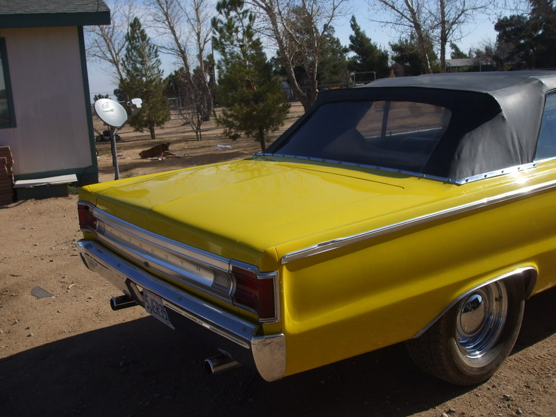 1967 Plymouth belvedere 2 convertible