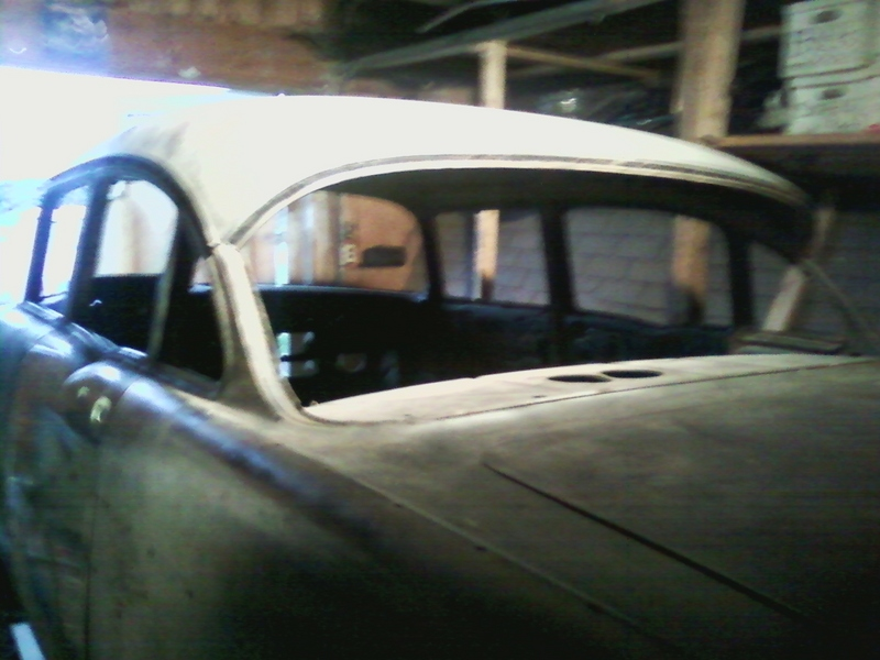 1957 Chevrolet Bel Air 4 Door Sedan California Frame