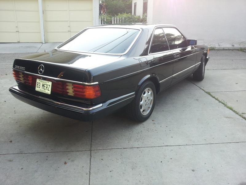 1983 mercedes benz 380 sec for sale in minneapolis for 1983 mercedes benz 380sec for sale