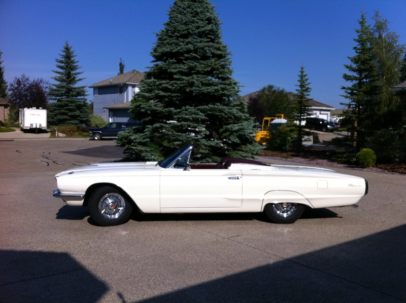 1966 Ford Thunderbird Roadster