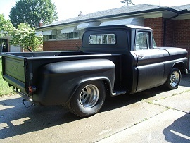 1960 GMC stepside pick-up