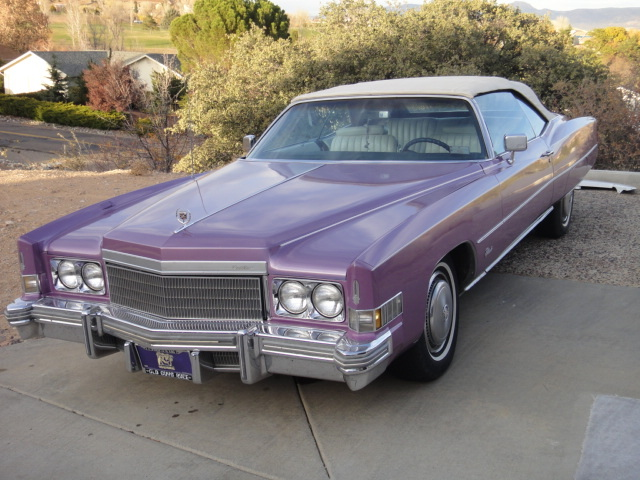 1974 Cadillac Eldorado In Houston Tx: 1974 Cadillac Eldorado Convertible For Sale In Mayer