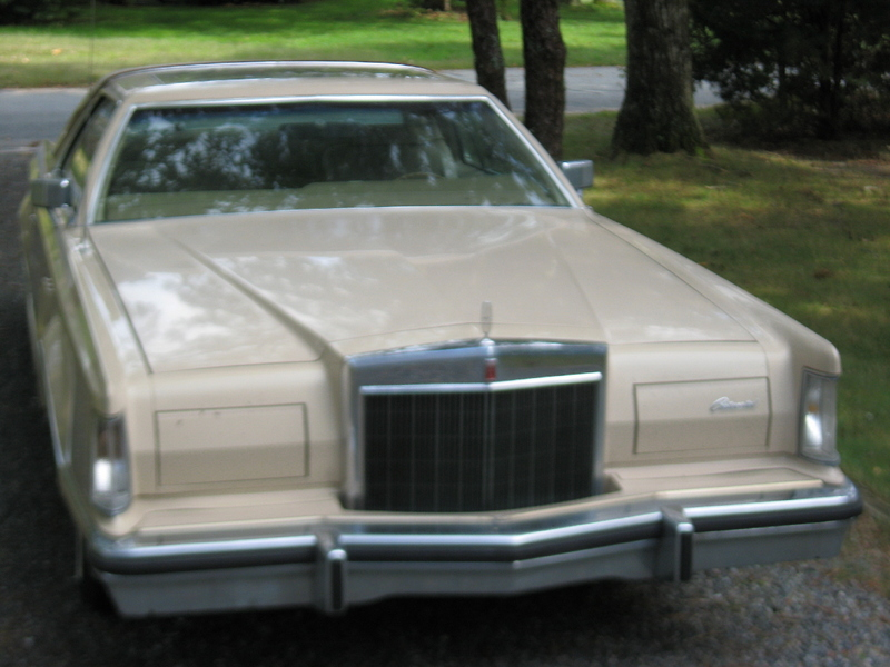 1979 Lincoln Mark V Cartier Designer Series