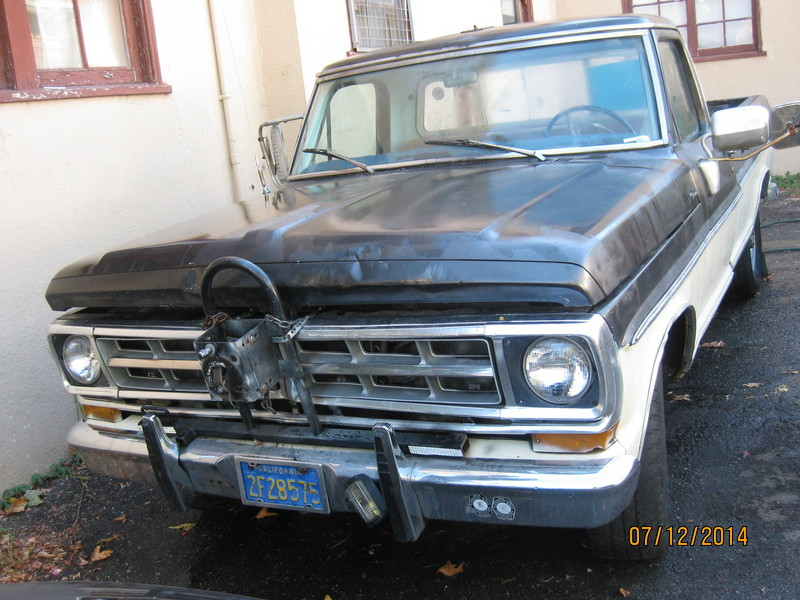 1967 Ford F250 Camper Special