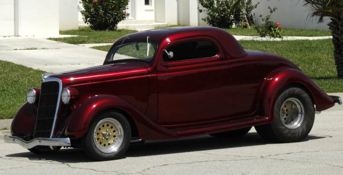 1935 Ford 3-Window Pro Street Coupe