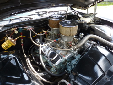 1974 Pontiac 389/66 GTO engine in a 1974 LeMams