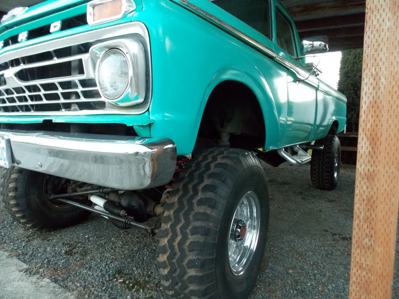 1966 Ford F-250 4X4