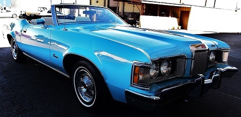 1973 Mercury Cougar  XR 7 Convertable