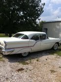 1957 Oldsmobile Super88 Holiday 4 dr HT