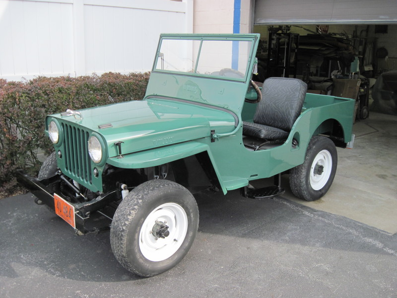 1948 Jeep-Willys CJ-2A