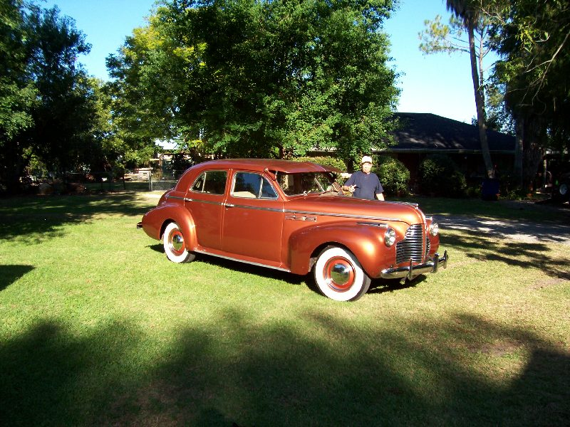 1940 Buick 4 dr touring sedan