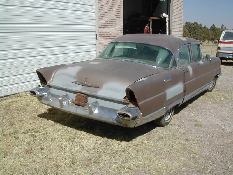 1956 Lincoln 4 door Preimere
