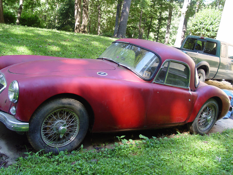 1959 MG MGA coupe
