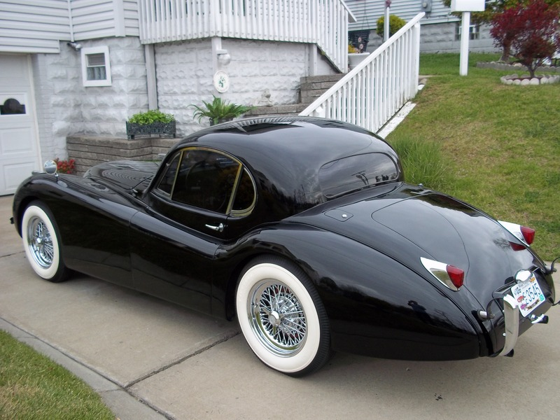 1953 Jaguar XK120 Coupe For Sale in Myrtle beach South Carolina