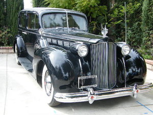 1938 Packard Chauffeured Super Eight