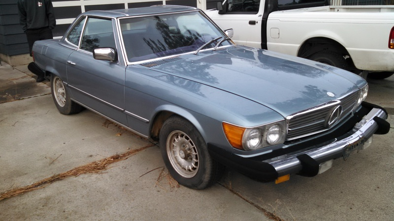 1978 mercedes benz 450sl for sale in spokane valley for Spokane mercedes benz