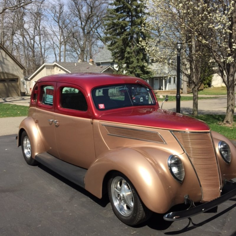 Ford Dealers In Michigan >> 1937 Ford 4 Dr Sedan For Sale in Commerce, Michigan | Old ...