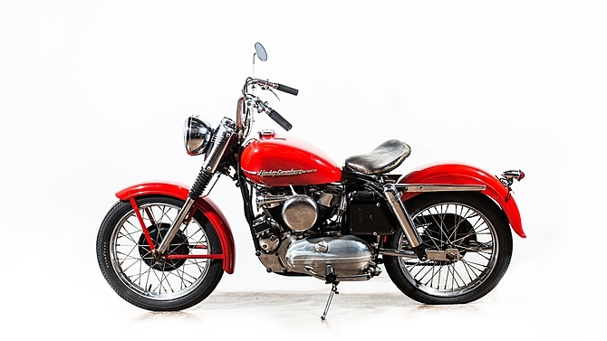 1952 Harley Davidson Model-K/4-Speed