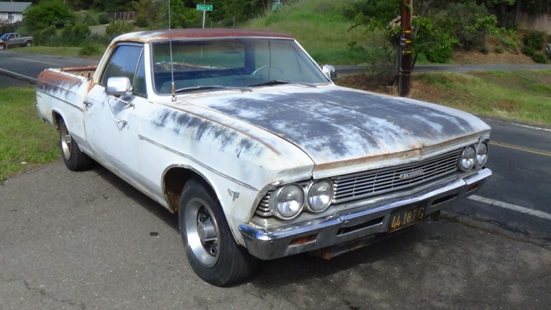 1966 chevrolet el camino for sale in nice , california | old car