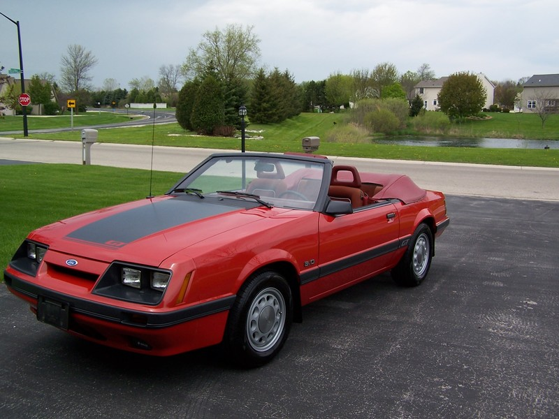 1985 ford mustang gt convertible for sale in germantown. Black Bedroom Furniture Sets. Home Design Ideas