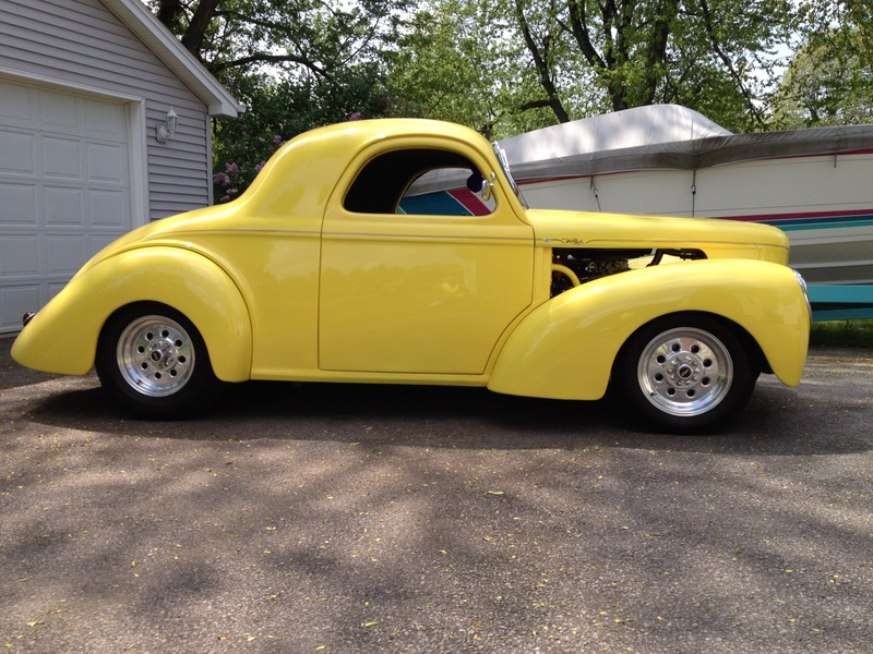 1941 willys coupe for sale in buffalo new york old car online. Black Bedroom Furniture Sets. Home Design Ideas