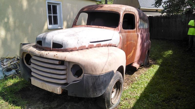 1950 ford panel truck for sale in sylvania ohio old car for 1950 chevy truck door panel