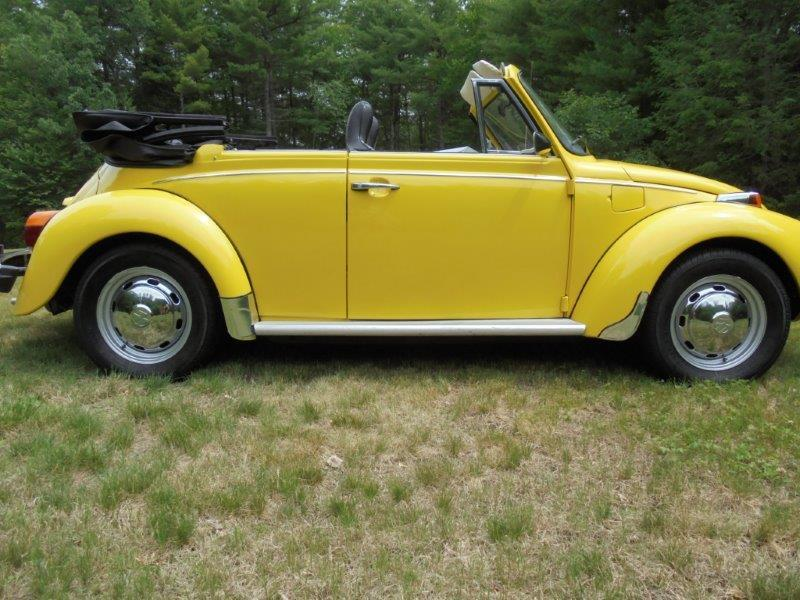1973 Volkswagen Super Beetle Convertible For Sale In Sutton Massachusetts Old Car Online