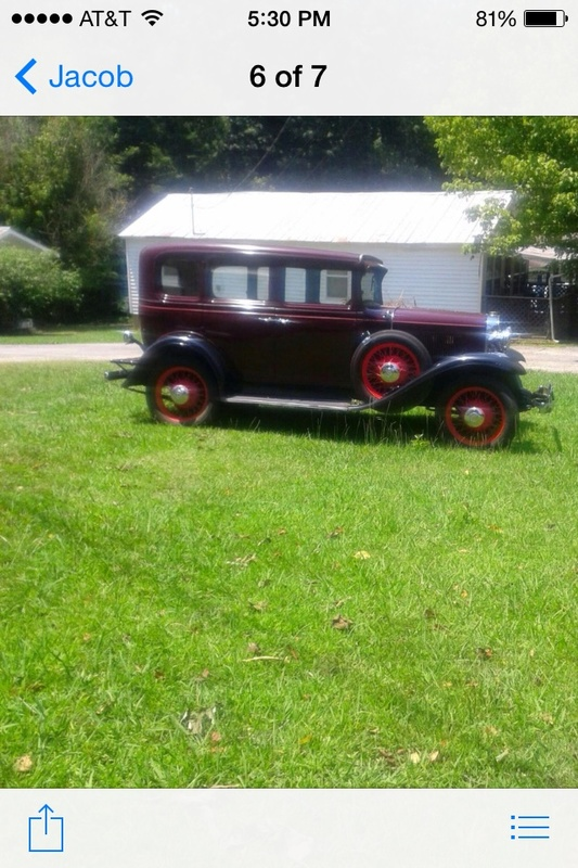1931 chevrolet sedan 4 door for sale in sevierville for 1931 chevrolet 4 door sedan