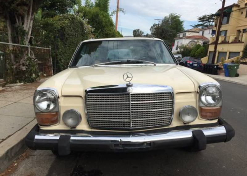 1976 mercedes benz 280c for sale in los angeles for Mercedes benz parts los angeles