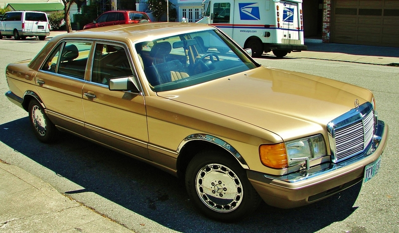 1987 mercedes benz 420sel for Mercedes benz eugene oregon