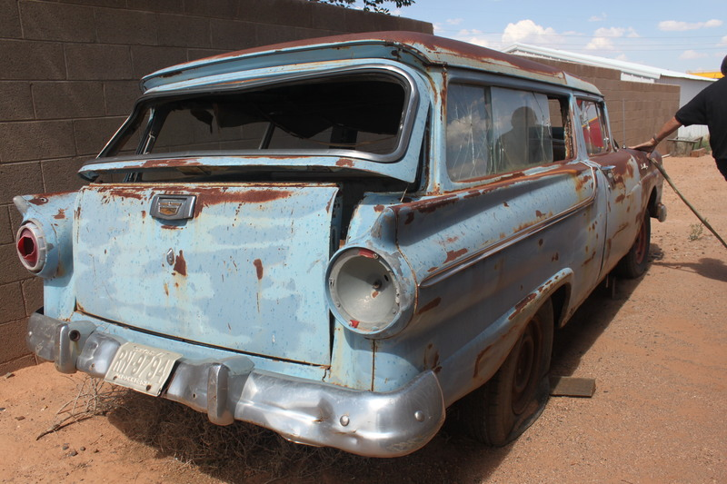 Ford classic cars trucks for sale on for 1957 ford 2 door ranch wagon