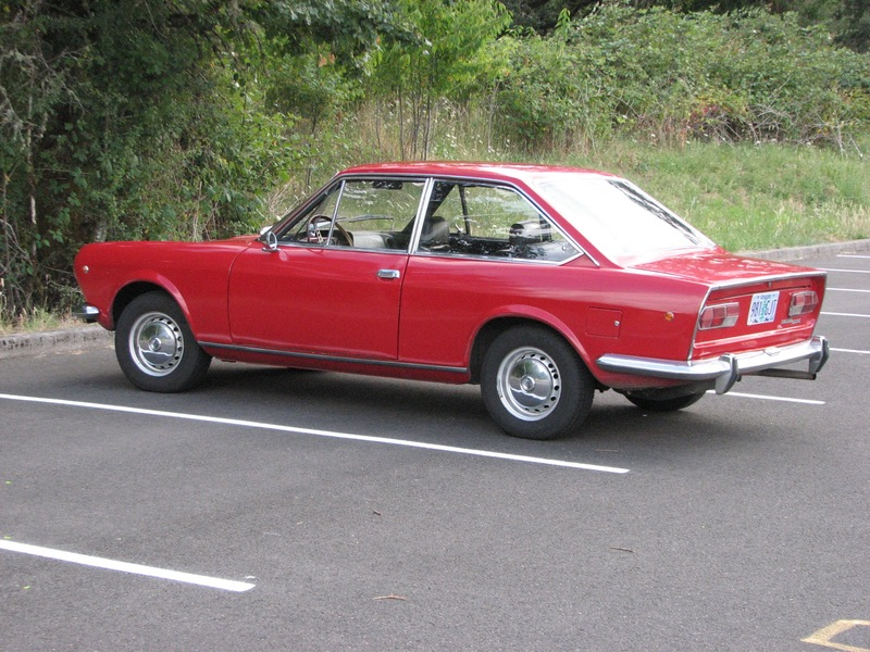 1969 fiat 124 sport coupe for sale in eugene oregon old car online - 1969 fiat 124 sport coupe for sale ...
