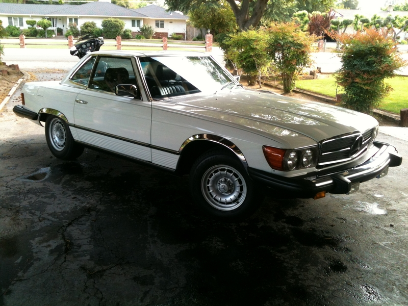 1981 mercedes benz 380sl for sale in fresno california for Mercedes benz parts near me