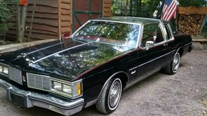 1983 Oldsmobile Delta 88 royale brougham coupe