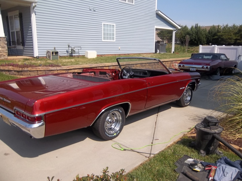 1966 Chevrolet Impala For Sale in Indian trail, North Carolina | Old ...