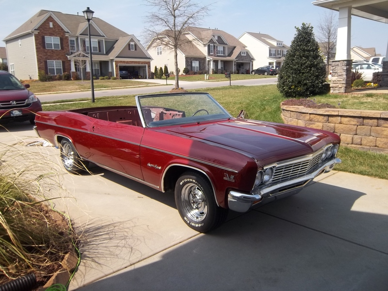 1966 Chevrolet Impala For Sale in Indian trail, North Carolina ...