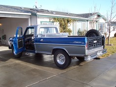 1967 Ford F250 Ranger pickup