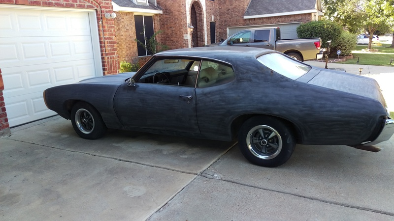 1969 pontiac gto for sale in grand prairie texas old car online. Black Bedroom Furniture Sets. Home Design Ideas