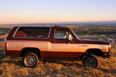 1981 Dodge Ramcharger 4x4 Big Horn edition