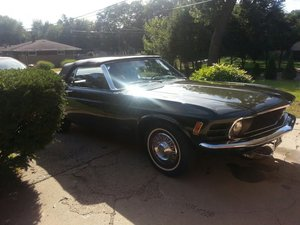 1970 Ford Mustang 2Dr. Convertible