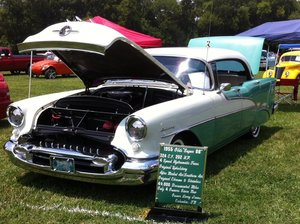 1955 Oldsmobile Super 88 Holiday 4Dr. hardtop